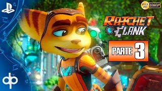 Ratchet and Clank PS4 Parte 3 Gameplay Español | Aridia - Campaña Completa 1080p