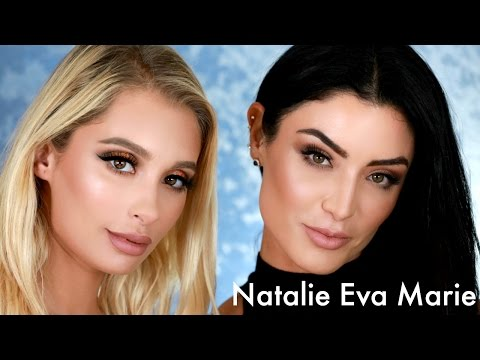 Doing Natalie Eva Marie's Makeup | Nicol Concilio