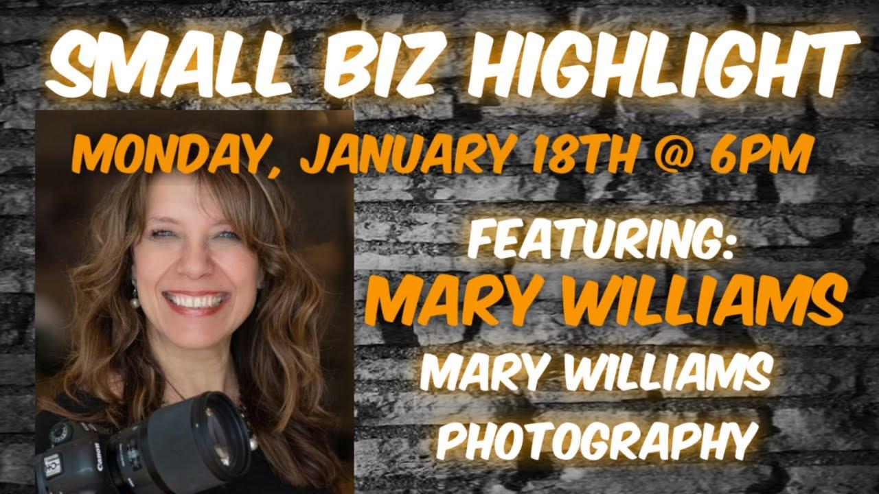 Ep. 49: Mary Williams, Mary Williams Photography