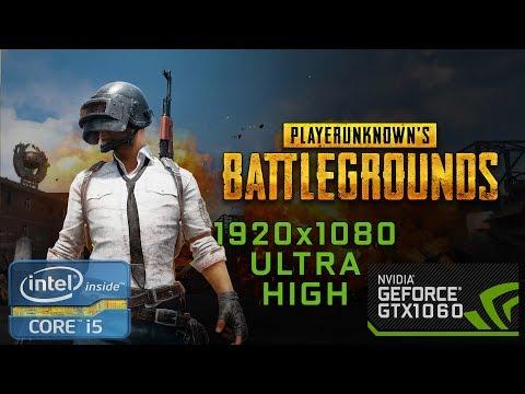 PlayerUnknown's Battlegrounds [I5 6400 + GTX 1060 3Gb] (1080p60FPS)