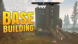 LAKE BASE BUILDING! - Citadel: Forged with Fire Gameplay #2