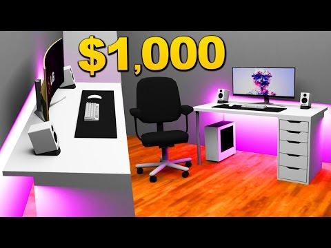$1000 Desk Setups [Setup Builds]