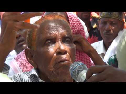 Crowning Of Sultan Mohamed Ogle