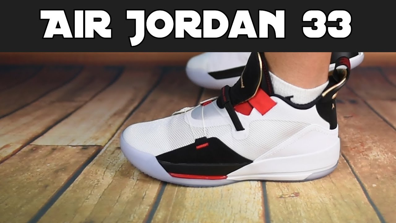 6222d3de9b7d50 Air Jordan 33 - Erster Eindruck + on Feet - YouTube