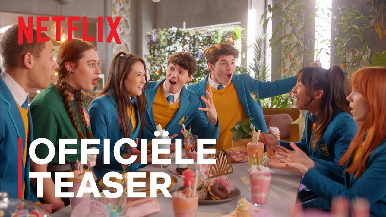 Misfit: de serie | Officiële Teaser | Netflix