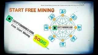START FREE BITCOIN MINING WITH CRYPTO MINING FARM FREE 50 GHS POWER