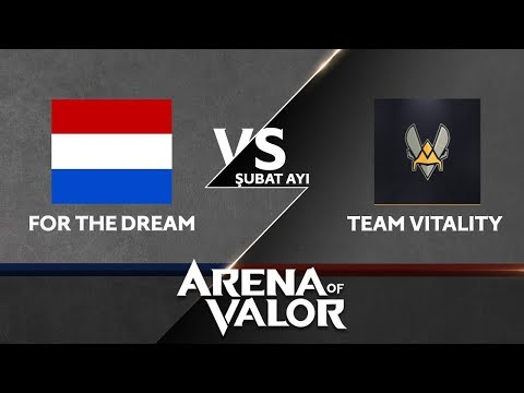 Team Vitality vs. For the Dream | Go4ArenaofValor Şubat Ayı Finali | Final 1. Maç