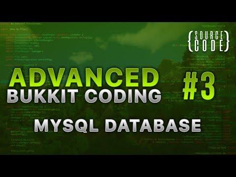 Advanced Bukkit Coding - MySQL Database - Episode 3 (1/2)