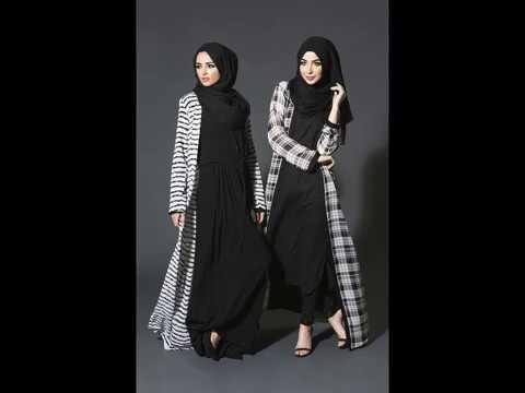Baju Muslim Motif Kotak Kotak Terbaru 2018 Youtube
