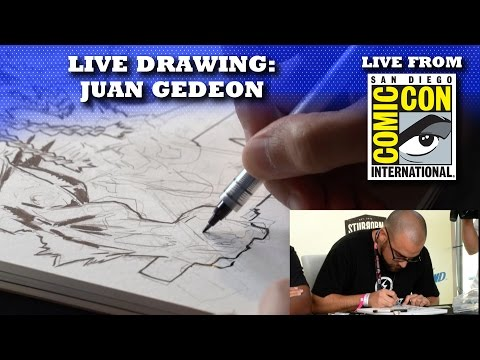 ZOMBIE BATTLE BEAST LIVE DRAWING | SAN DIEGO COMIC CON 2016 LIVE SHOW!