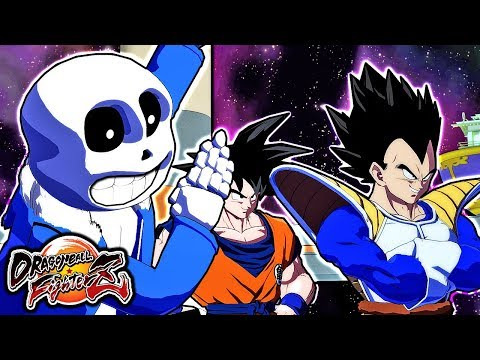 THE GREATEST MOD OF FIGHTERZ! Sans Gameplay in Dragon Ball FighterZ (Undertale)