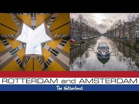 Rotterdam & Amsterdam, The Netherlands - Travel Vlog
