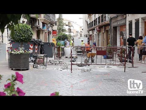 VÍDEO: El ayuntamiento reconoce que muchas obras en calles del centro no se ejecutaron bien en su día y está costando unos 35.000 euros anuales su reparación
