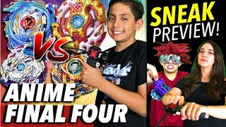 Anime Battle! Beyblade Burst Show FINAL 4 PLUS Fake Blader OFFICIAL TRAILER!   ベイブレードバースト