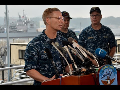 USS Fitzgerald Press Conference
