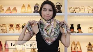 Hermes scarves. How to tie tut…