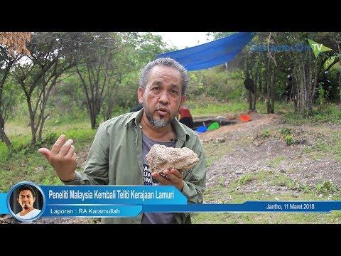 Misteri Karang Laut Berada di Bukit Lamuri, Ini Penjelasan Profesor Malaysia