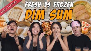 Fresh VS Frozen Dim Sum   Taste Testers   EP 117