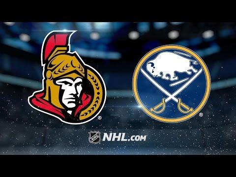 Lehner, Sabres blank Senators, 4-0