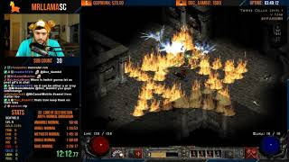 Diablo 2 - Any% Barbarian Speedrun (11/12/2018)