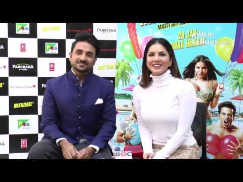 Mastizaade Movie Promotion 2015   Sunny Leone, Tushar Kapoor, Vir Das