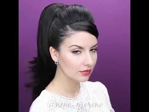 pin- high ponytail hairstyle