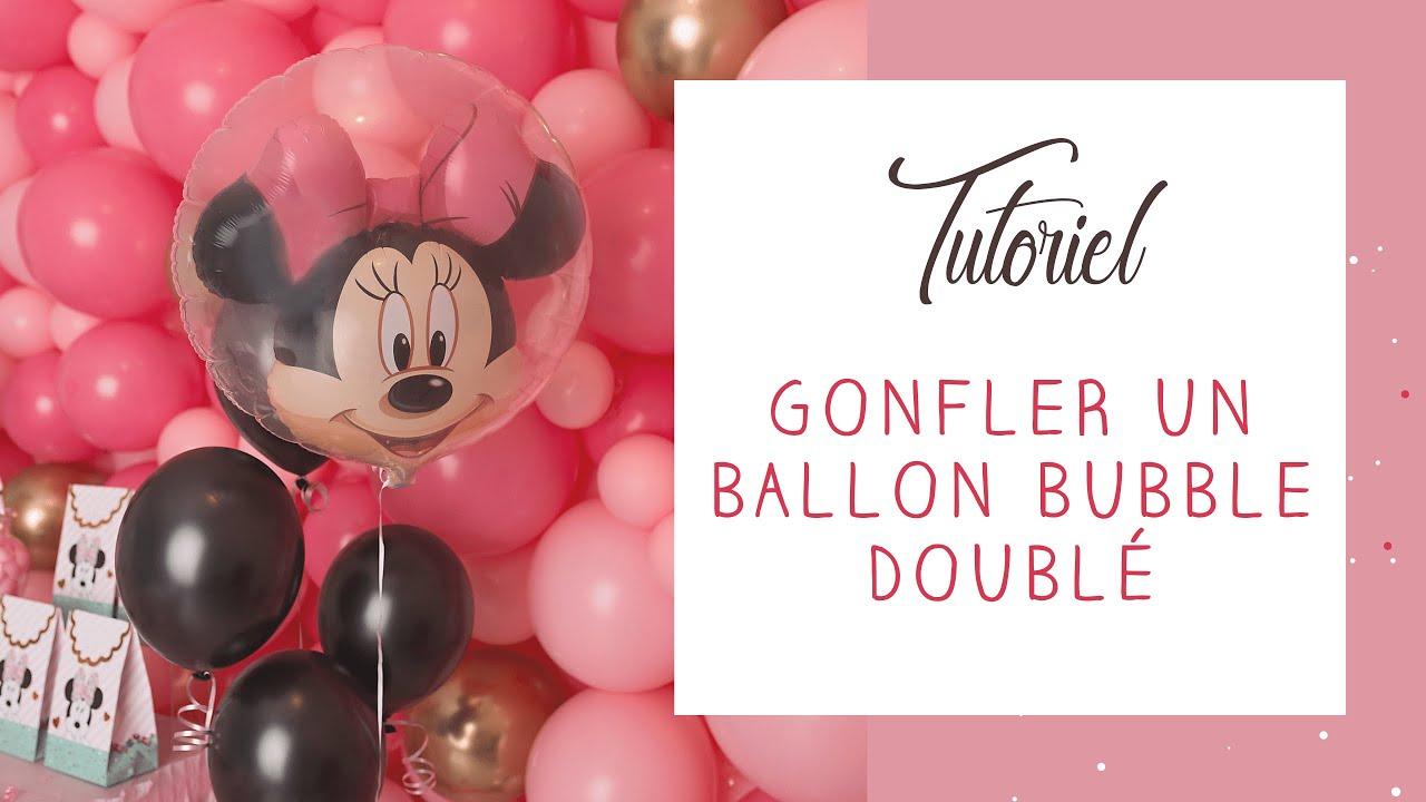 tuto comment gonfler un ballon bubble double ballons valve youtube. Black Bedroom Furniture Sets. Home Design Ideas