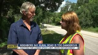 Rural two lane road more like dangerous highway, neighbors say | Driving Tampa Bay Forward