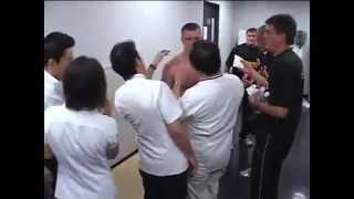mirko cro cop vs wanderlei silva backstage footage