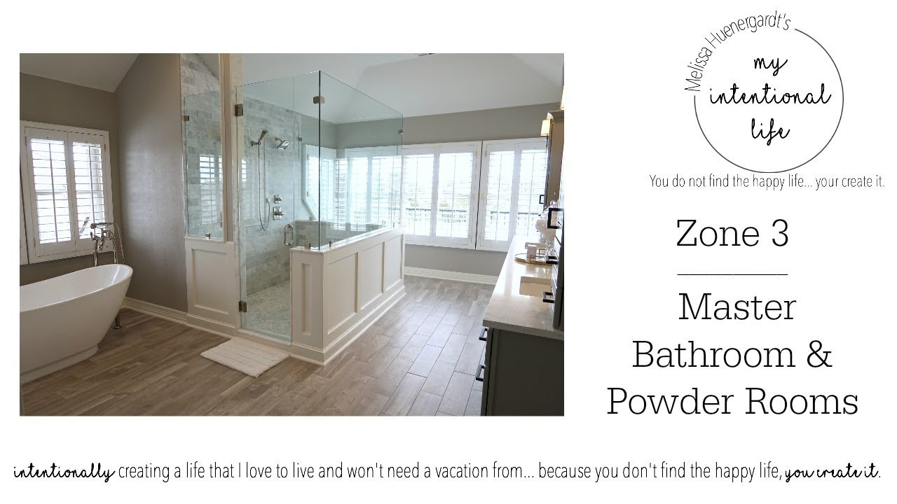 clean with me zone cleaning master bathroom my. Black Bedroom Furniture Sets. Home Design Ideas