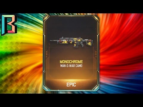 EPIC Man Of War Camo - Monochrome Black Ops 3 - 동영상