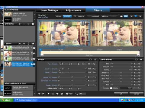 [Tutorial] Hướng Dẫn Tạo Styles Proshow Producer 5.0 - Motion P.4