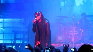 "MARILYN MANSON ""HEY, CRUEL WORLD"" OPENING @ Rockhal Luxemburg 01.12.2012 FULL HD"