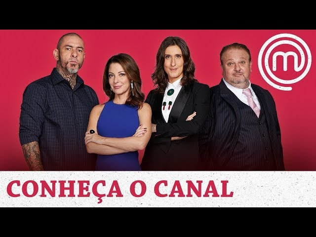 CANAL DO MASTERCHEF NO YOUTUBE