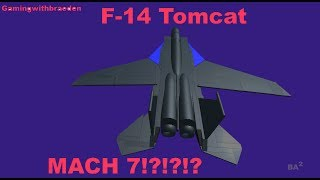 Flying F-14 Tomcat At Mach 7 | Roblox
