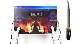 Unboxing SEKIRO Shadows Die Twice PS4 Collector's Edition