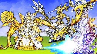 【小熙解说】喵星人大战 获得美女神和海皇波塞冬超激! 海皇简直就是龙骑士!猫咪大战争