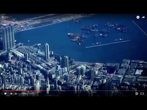Hong Kong-San Francisco flight 香港直航三藩市聯合航班: Kowloon Bay 九龍灣, Taipei 台北, Half Moon Bay CA 2015-02-13