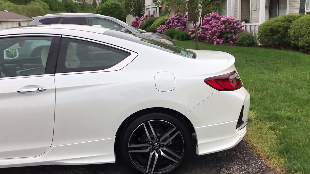 2017 Honda Accord White >> My new '17 White Orchid Pearl Honda Accord Touring HFP V6 ...