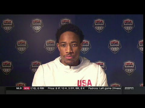 DeMar DeRozan Postgame Interview | USA vs Serbia | 2016 Rio Olympics