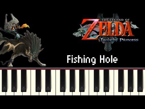 Fishing Hole - The Legend Of Zelda: Twilight Princess [Synthesia]