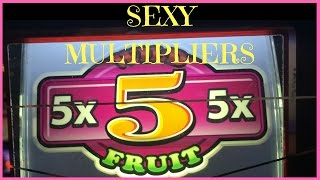Sexy (Fruity) Multipliers! ✦ MULTIPLIER MONDAYS ✦ Live Play Slots / Pokies in Las Vegas and SoCal