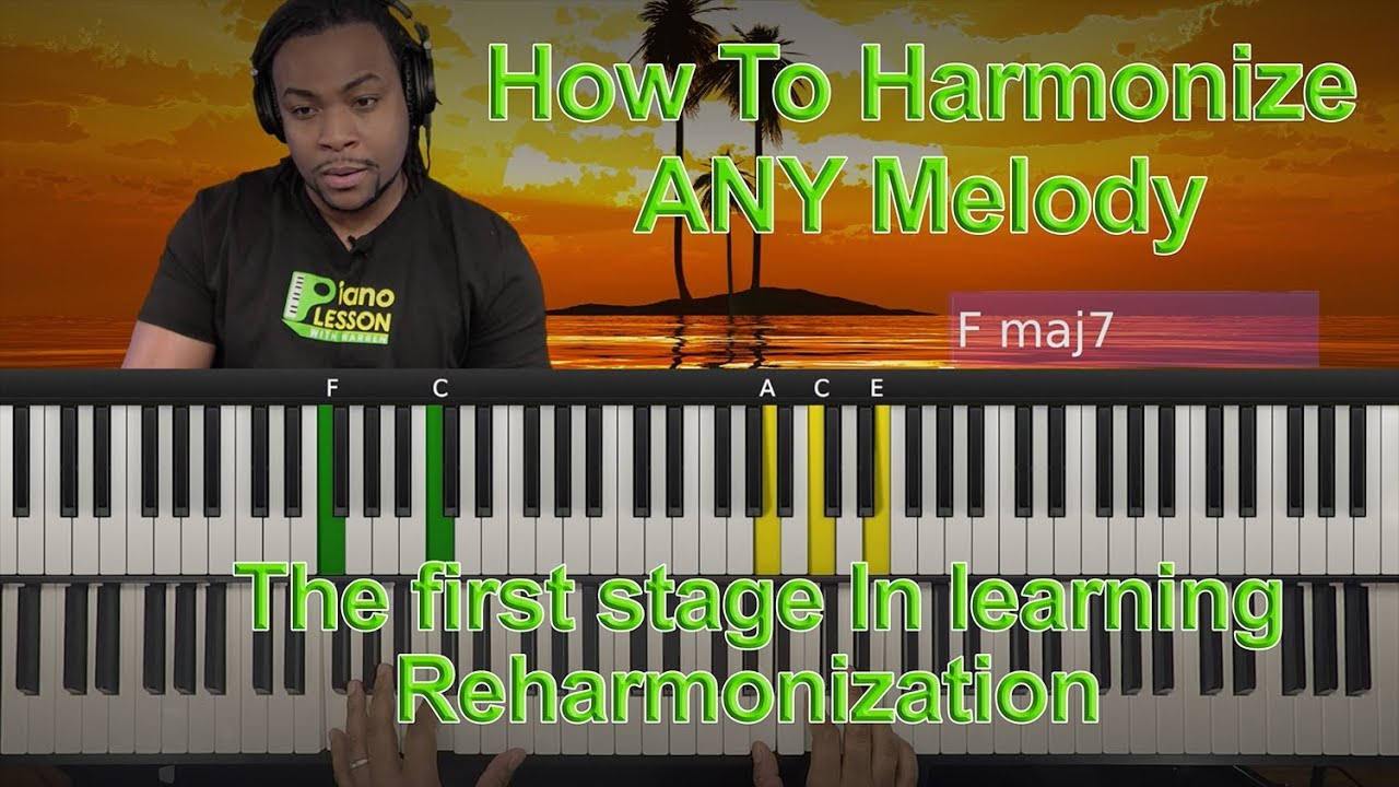 how to harmonize any melody previews youtube. Black Bedroom Furniture Sets. Home Design Ideas