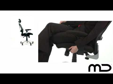 Deluxe Mesh Ergonomic Office Chair With Headrest From Milan Direct Australia