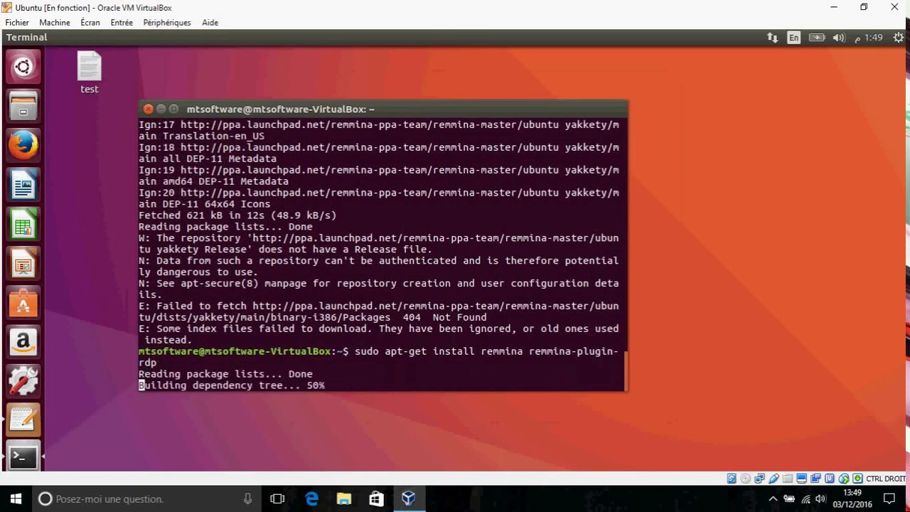 How to install Remmina 1 1 1 on Ubuntu 16 04