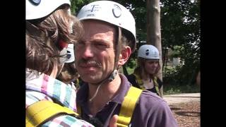 Uwe Wöllner beim Klettern Teil 2