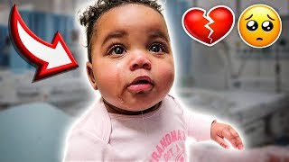WE RUSHED NOVA TO THE HOSPITAL 💔