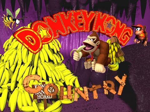 Let´s Play Donkey Kong Country [German/101%] Part 1 Affenbande Action
