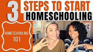 How to homeschool | get started homeschooling in 3 steps