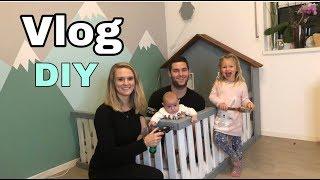 Vlog | DIY | Wir bauen ein Bett | Dressedlikepingu